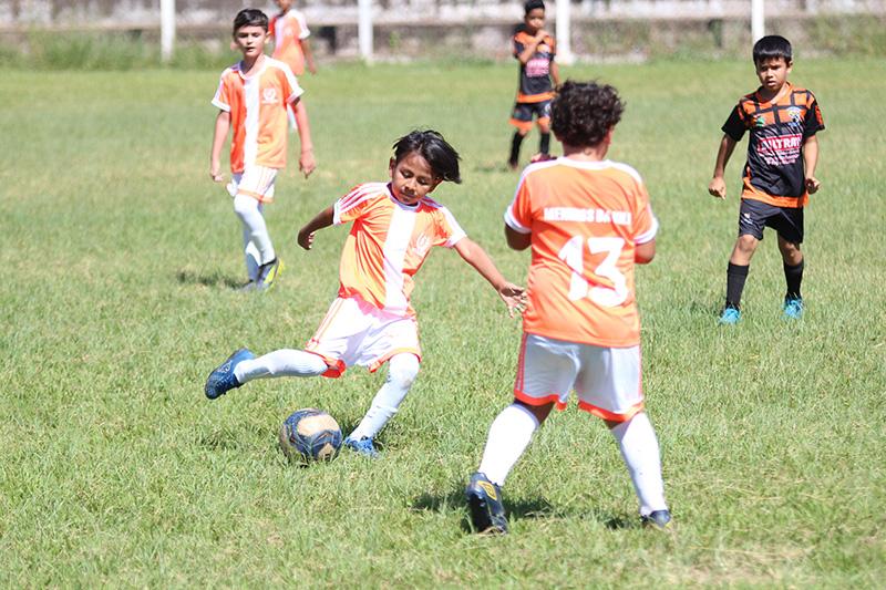 Atlético Ipiranga está nas semifinais da categoria sub-8 da LAF