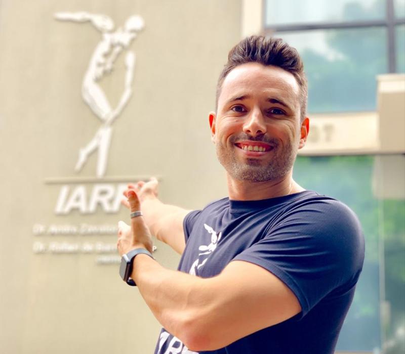 Rafael de Barros é fisioterapeuta e crossfiter em Americana