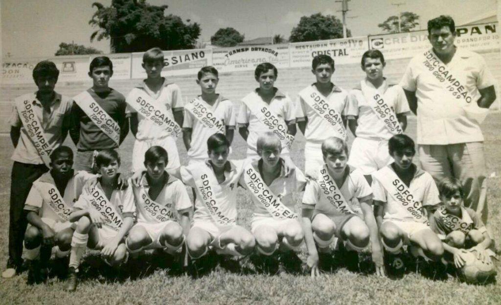 São Domingos FC - campeão Topo Gigio 1969 - Serginho Meneghel