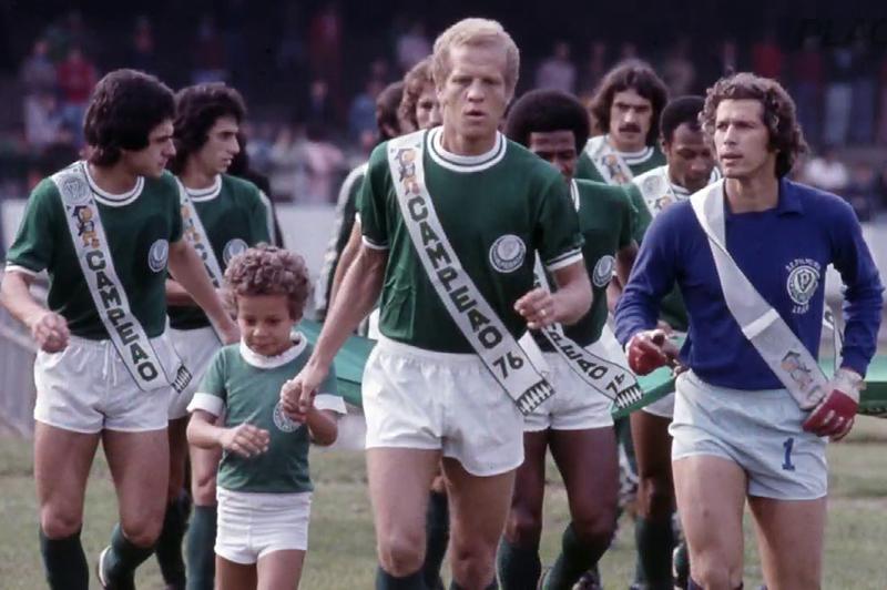 Ademir da Guia, em 1976: o maior ídolo do Palmeiras