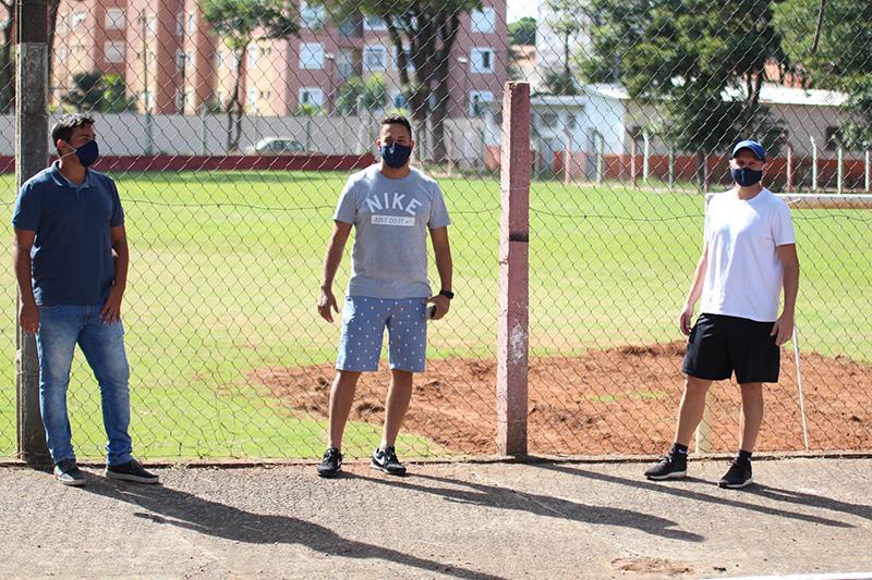 Walkinho, Tite e Thelmis estão envolvidos no projeto no São Manoel