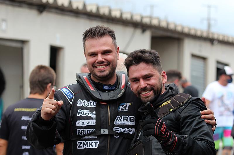 Gurga e Matheus conquistaram os títulos da temporada 2020 da Raceman