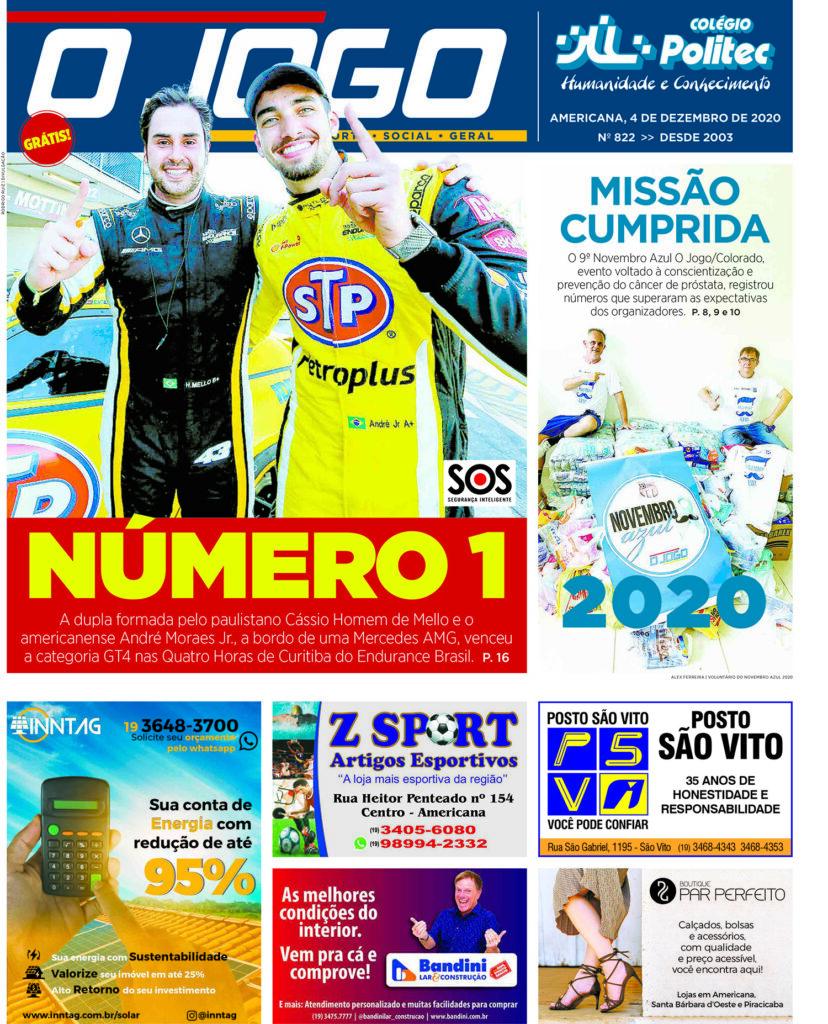 O JOGO 822_capinha