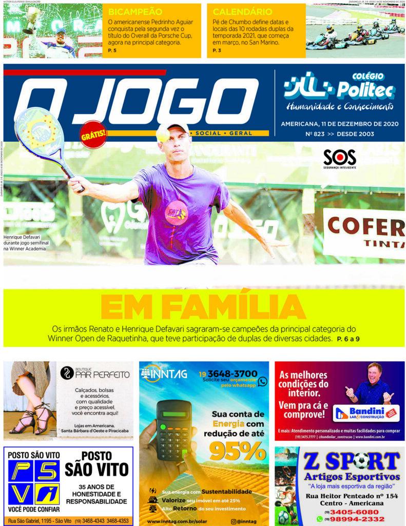 O JOGO 823_capinha