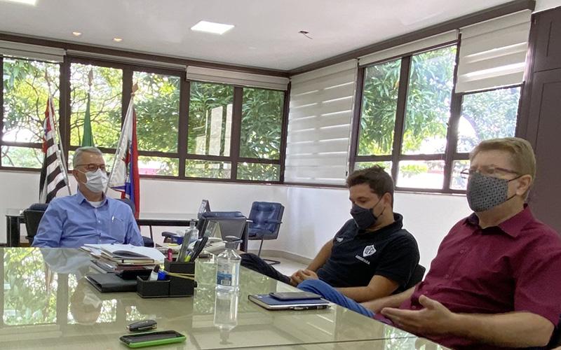 Chico, Luís Guilherme e Bonaldo, esta semana, no Gabinete