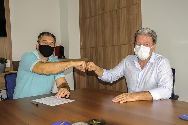 Ednei Contato e Marcelo Contatto oficializam sequência da parceria