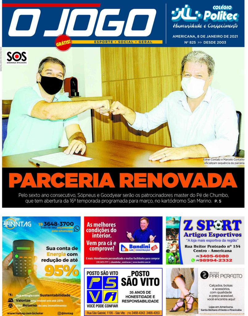 O JOGO 825_capinha