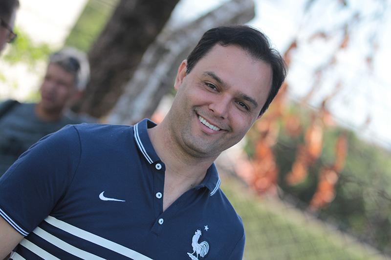 Thiago Brochi é o autor da Moção de Aplausos ao O JOGO