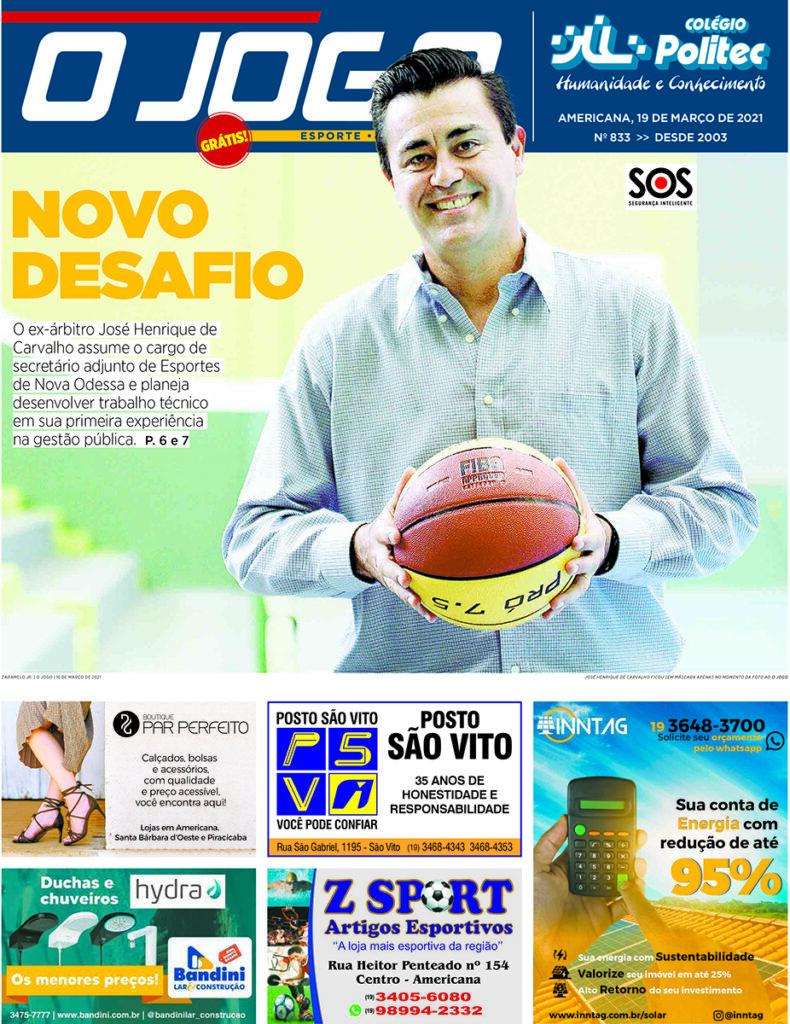 O JOGO 833_capinha