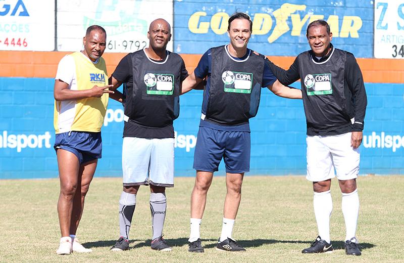 Macedo, Flávio Conceição, Thiago Brochi e Müller