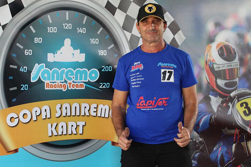 Ivan Milani é o responsável pela organização da Copa Sanremo