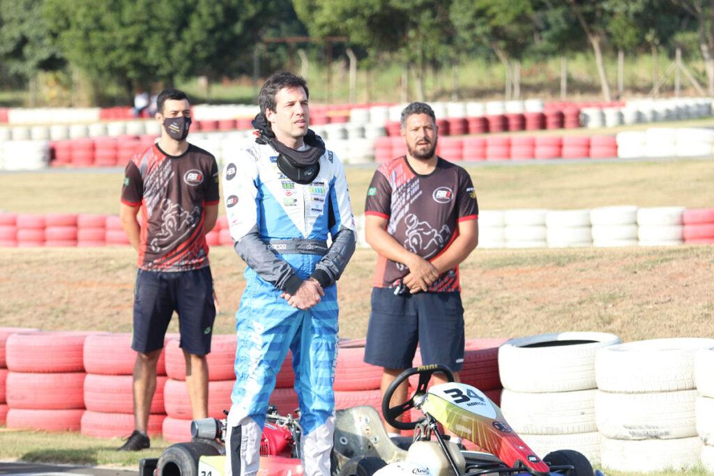 Nando Santo André é um dos pilotos da categoria Pró do PDC