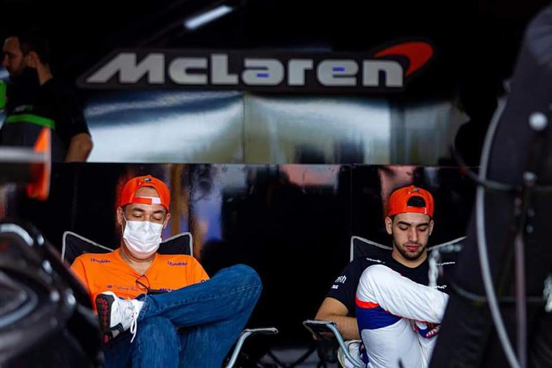 André pai e André Jr., nos boxes, na etapa de abertura (F: Divulgação)