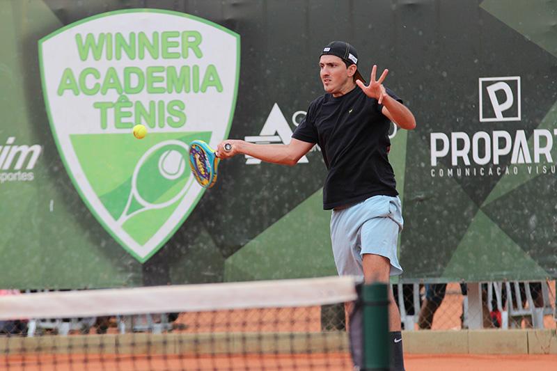 Bibi Campana é um dos jogadores da principal categoria do Open