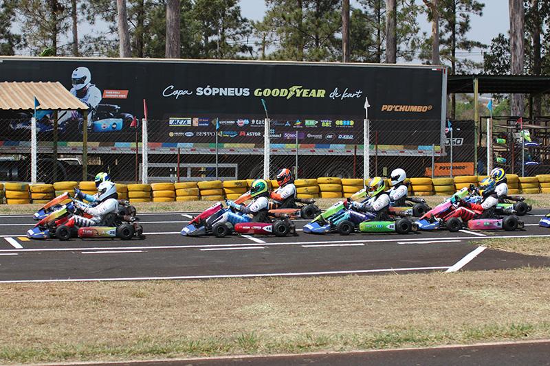 Sexta etapa da temporada, semana passada, reuniu pilotos em Araraquara
